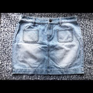 Loft Denim Skirt